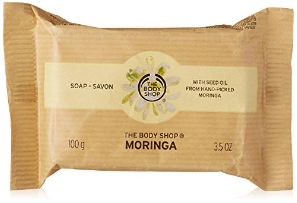 かすかな瞑想する専門知識ザ?ボディショップ モリンガ ソープ 100g(並行輸入品)
