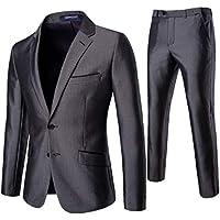 Howely Men's Business Premium Slim Casual Suit Casual/Formal/Wedding Tuxedo