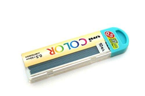 カラーシャープ替芯 ユニ0.5mm【ミントブルー】 U05205C.32