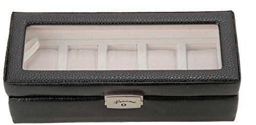 [サンブランド]SUNBRAND 牛革時計収納ケース 5P用 189994