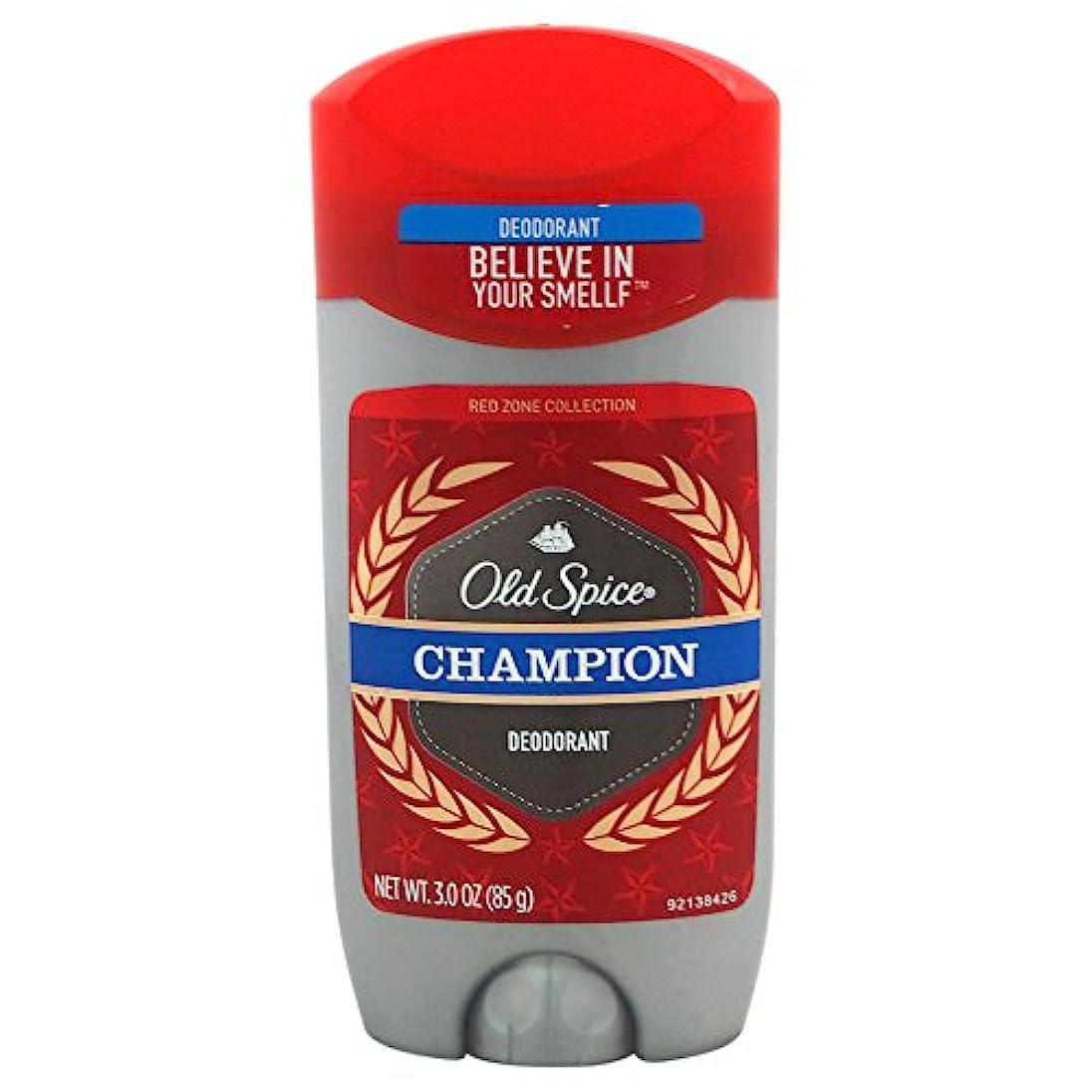 ガイドライン講師二オールドスパイス(Old Spice) Deodorant デオドラント Red zone CHAMPION/チャンピョン 85g [並行輸入品]