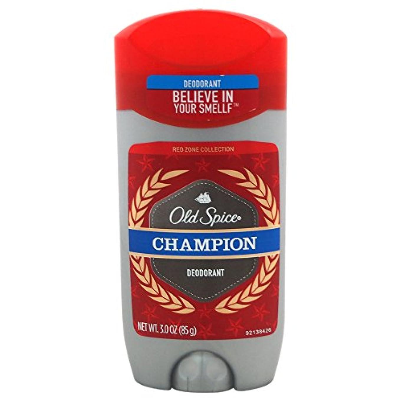 余剰浮浪者滅多オールドスパイス(Old Spice) Deodorant デオドラント Red zone CHAMPION/チャンピョン 85g [並行輸入品]