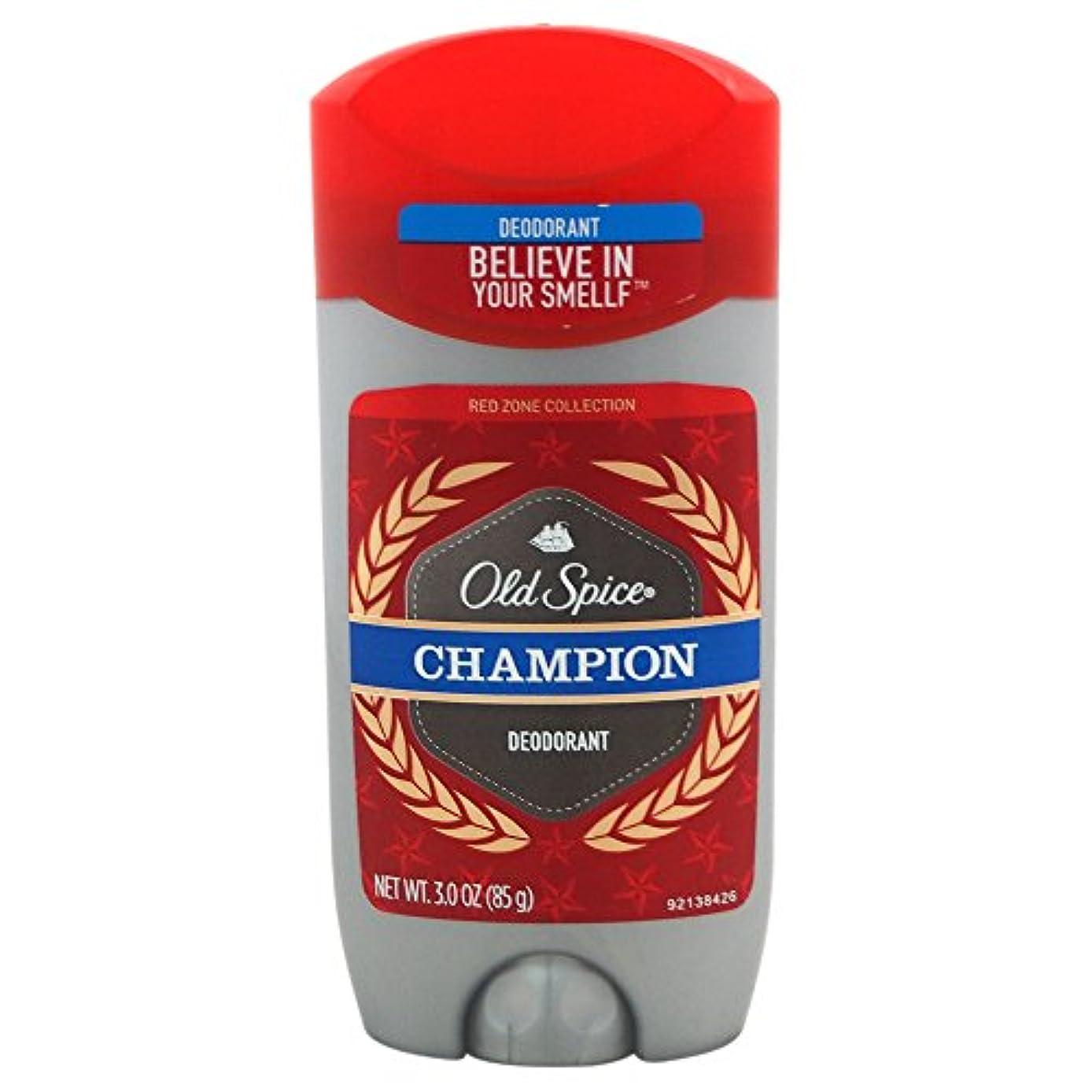オールドスパイス(Old Spice) Deodorant デオドラント Red zone CHAMPION/チャンピョン 85g[並行輸入品]