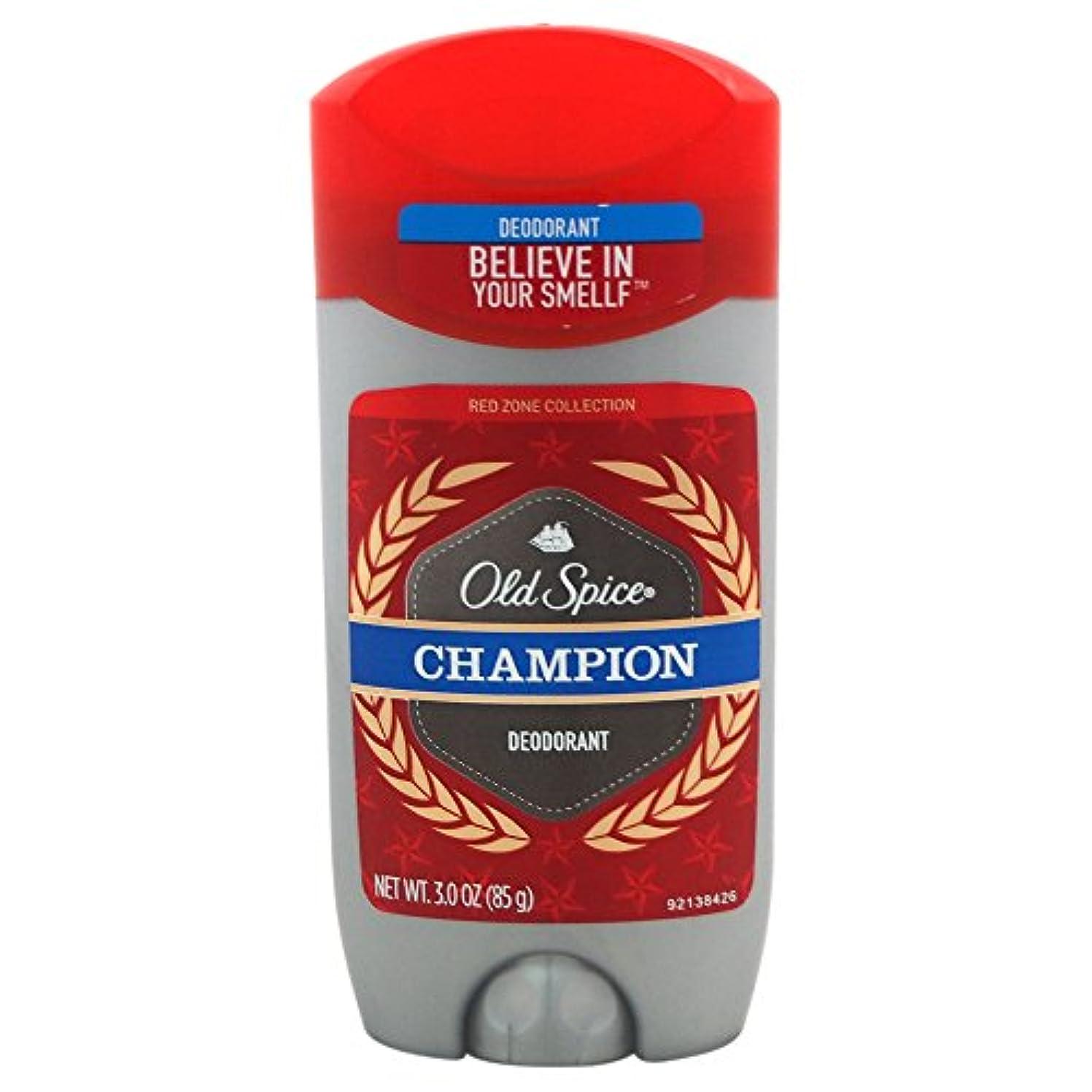 以降ナチュラル横たわるオールドスパイス(Old Spice) Deodorant デオドラント Red zone CHAMPION/チャンピョン 85g[並行輸入品]