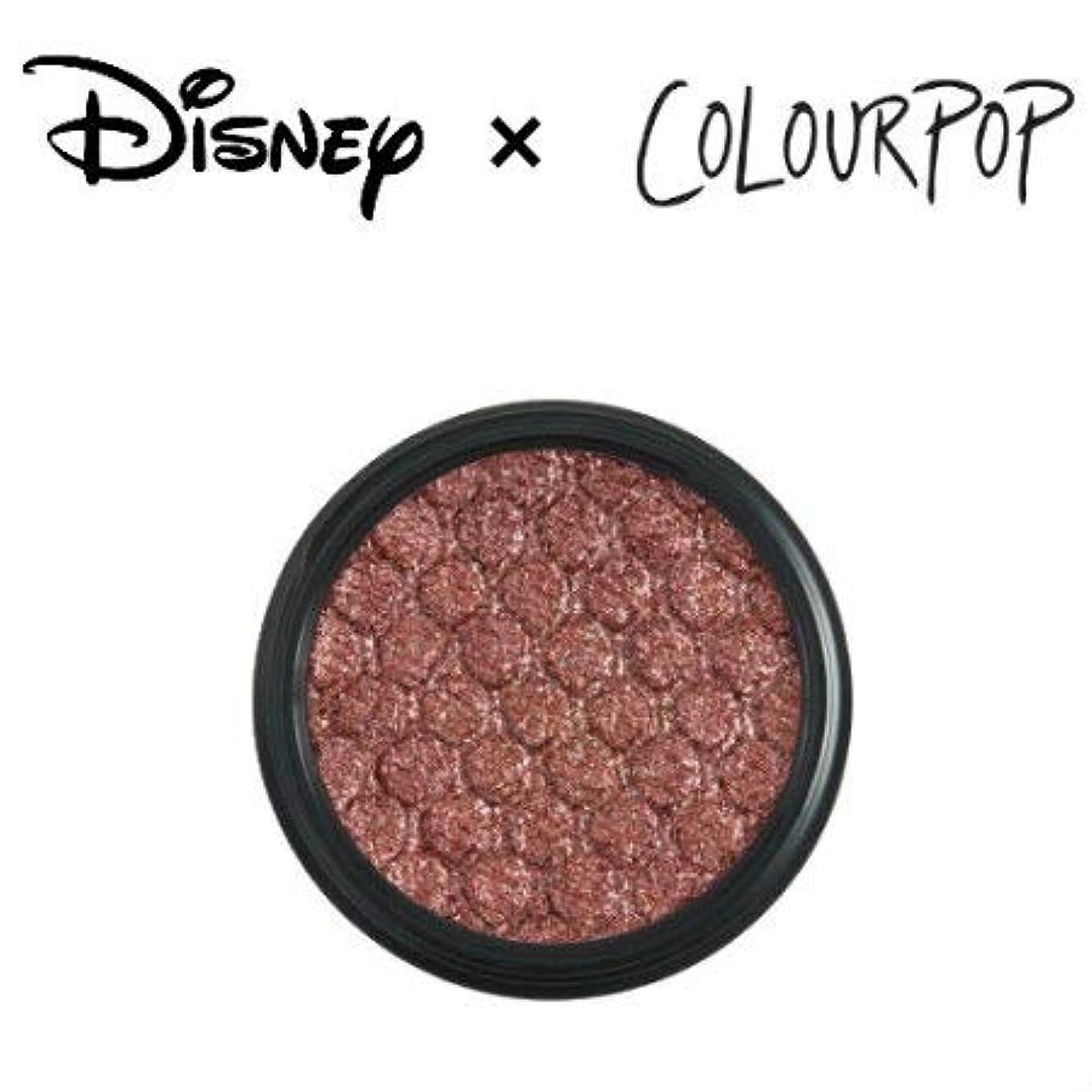 エーカー敵特徴づけるカラーポップ COLOURPOP x DISNEY ディズニー プリンセス アイシャドウ ALMOST THERE(ディープブロンズ)