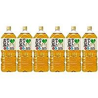 【ケース販売】グリーン ダカラ (GREEN DAKARA) やさしい麦茶 2000ml×6本