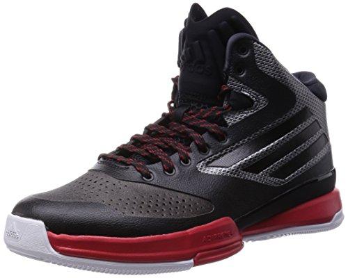 [アディダス] adidas バスケットボールシューズ adizero Bash 6 Q16992 Q16992 (コアブラック/スカーレット/ランニングホワイト/28.5)