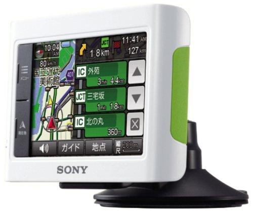 SONY 3.5V型 パーソナルナビゲーションシステム U3C ホワイト NV-U3C/W