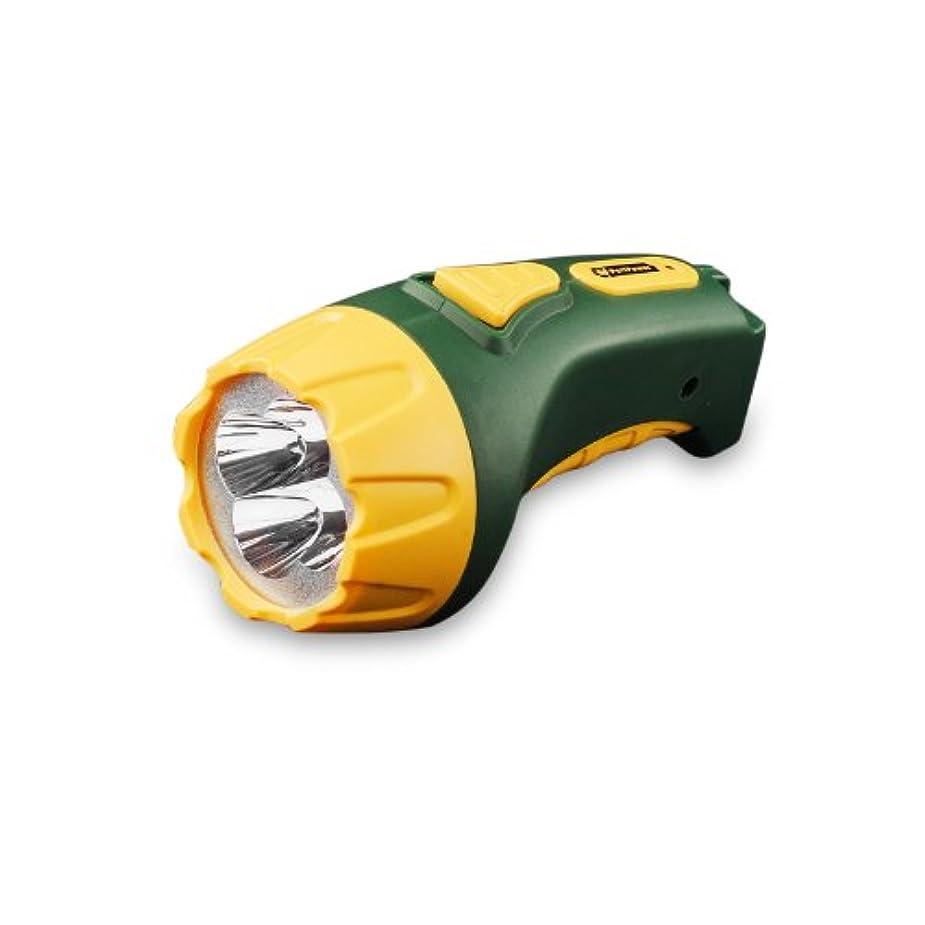 メタリックスキップトリムGoGreen Power GG-113-04RC 4 LED Rechargeable Flashlight by PerfPower Go Green