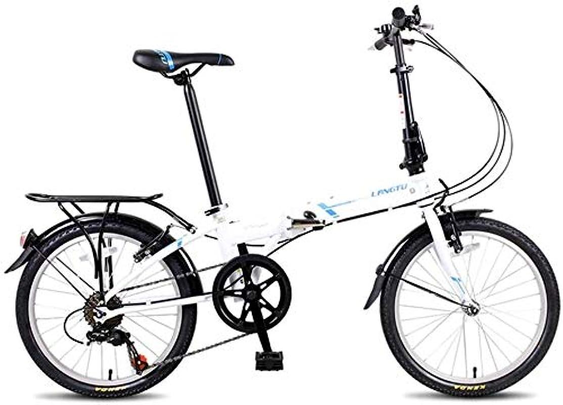 詳細にすぐにふざけた大人が自転車を折りたたみ、20
