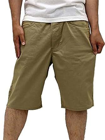 (ラングラー) Wrangler 大きいサイズ ショートパンツ メンズ ハーフパンツ 吸汗速乾 クールアンドライト 1color 38 カーキ