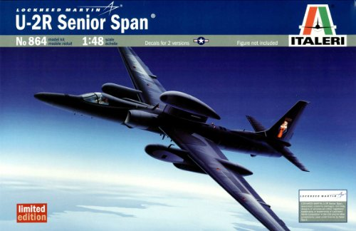 タミヤ イタレリ 1/48 飛行機シリーズ 0864 U-2R セニアースパン 39864