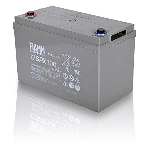 FIAMMブランド 完全密閉 ディープサイクルバッテリー(制御弁式蓄電池) 12V-100Ah 12SPX100