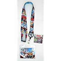 Marvel 68847 Thor Lanyard with Zip Lock Card Holder, Multi Color