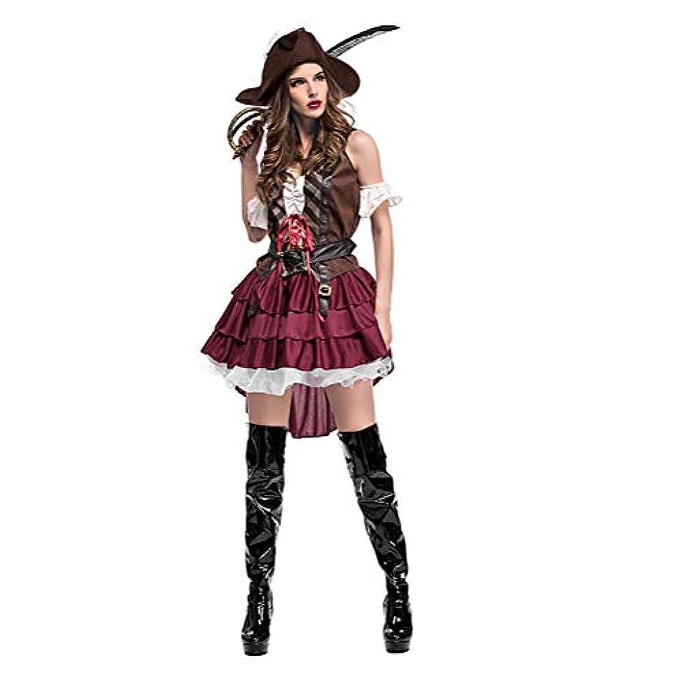 感心するストレス給料海賊 コスチューム衣装仮装ハロウィン 女性用 ハロウィン衣装 コスプレ海賊帽付 パイレーツオブカリビアン風 大人用 ハロウィーン クリスマス COSPLAY 変装 仮装