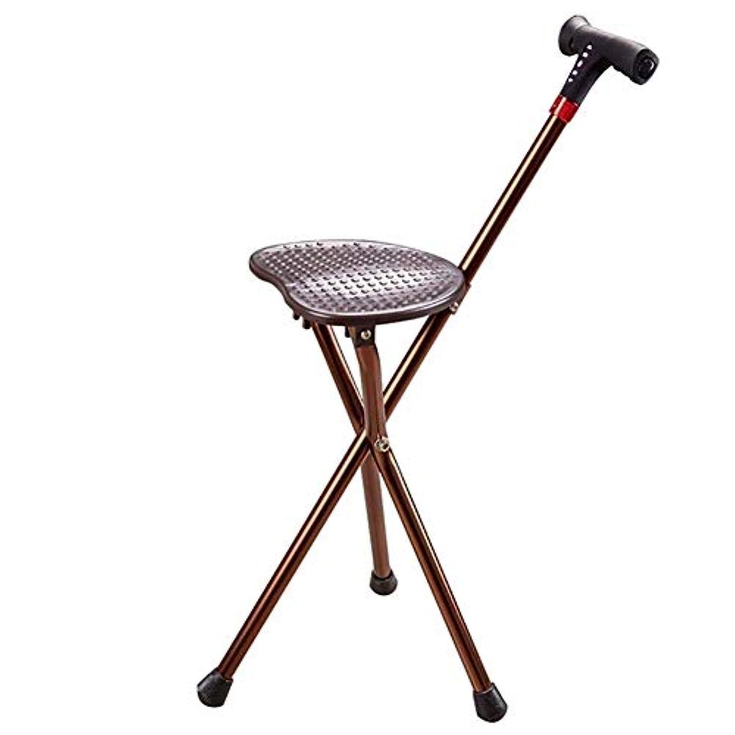 飢スチュアート島事実軽量で調節可能な高さの杖席、MP3プレイ用の多機能松葉杖、高デシベルアラームなど。