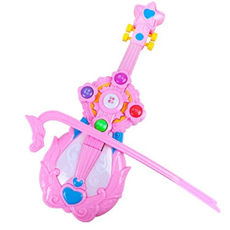 Linshop 3歳の教育用シミュレーション装置に誕生日プレゼントを子供たちに1 Linshop ピンクのヴァイオリン音楽赤ちゃんおもちゃ