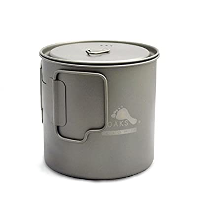 TOAKS Light Titanium 650ml Pot