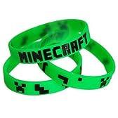 Minecraftマインクラフト Creeper シリコンバンド ブレスレット(緑×黒) 並行輸入品