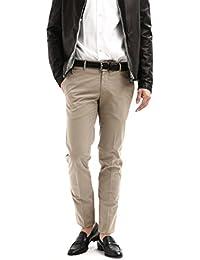PT01 (ピーティーゼロウーノ) BUSINESS (ビジネス) SUPER SLIM FIT (スーパースリムフィット) Lux Cloth ストレッチ コットン スラックス パンツ WHITE (ホワイト・0010)GREGE (グレージュ・0106)