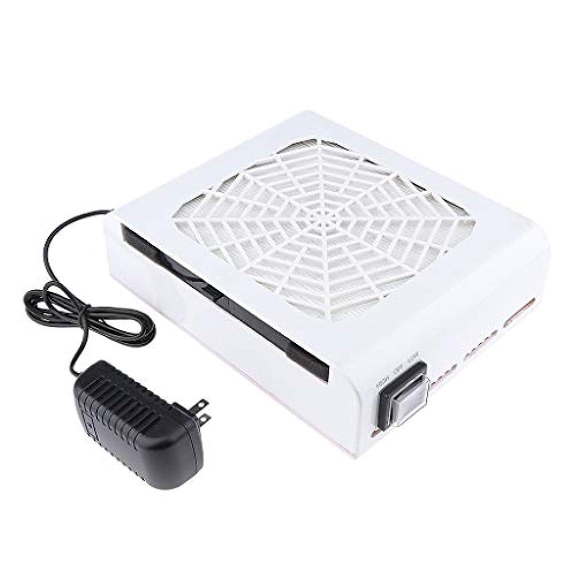 B Blesiya 48W ネイルダストコレクター ネイルフィルター 高品質 プロ ネイルサロン