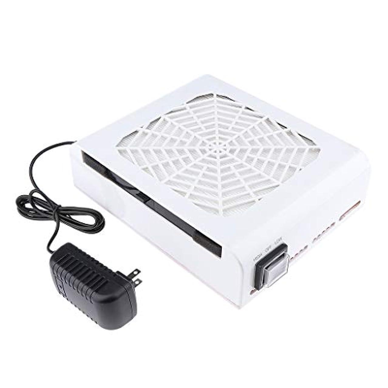 チェリー空白ピアノB Baosity 48W ネイルダストコレクター ネイルアート ネイルダスト 電動 塵収集