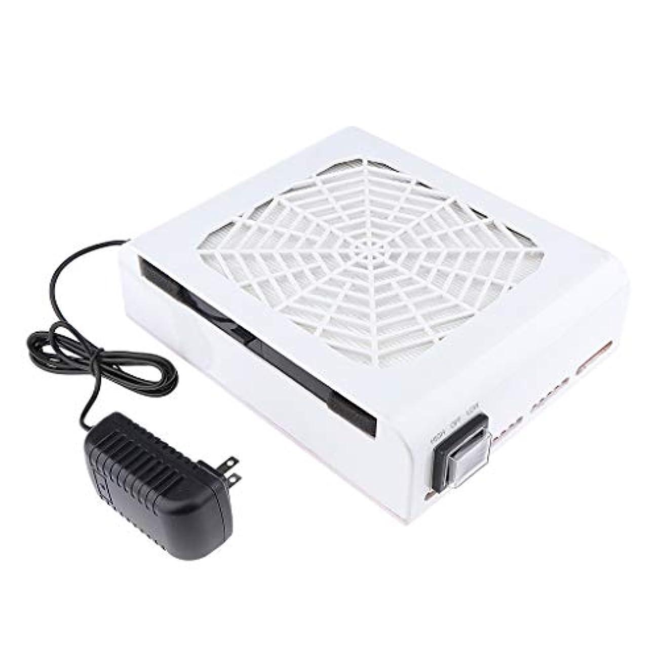 操作申請中安定したB Baosity 48W ネイルダストコレクター ネイルアート ネイルダスト 電動 塵収集