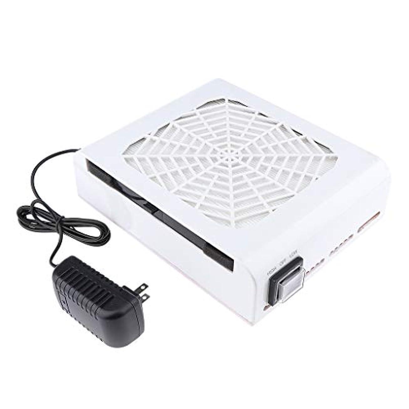 ライバルベッド従順なB Baosity 48W ネイルダストコレクター ネイルアート ネイルダスト 電動 塵収集