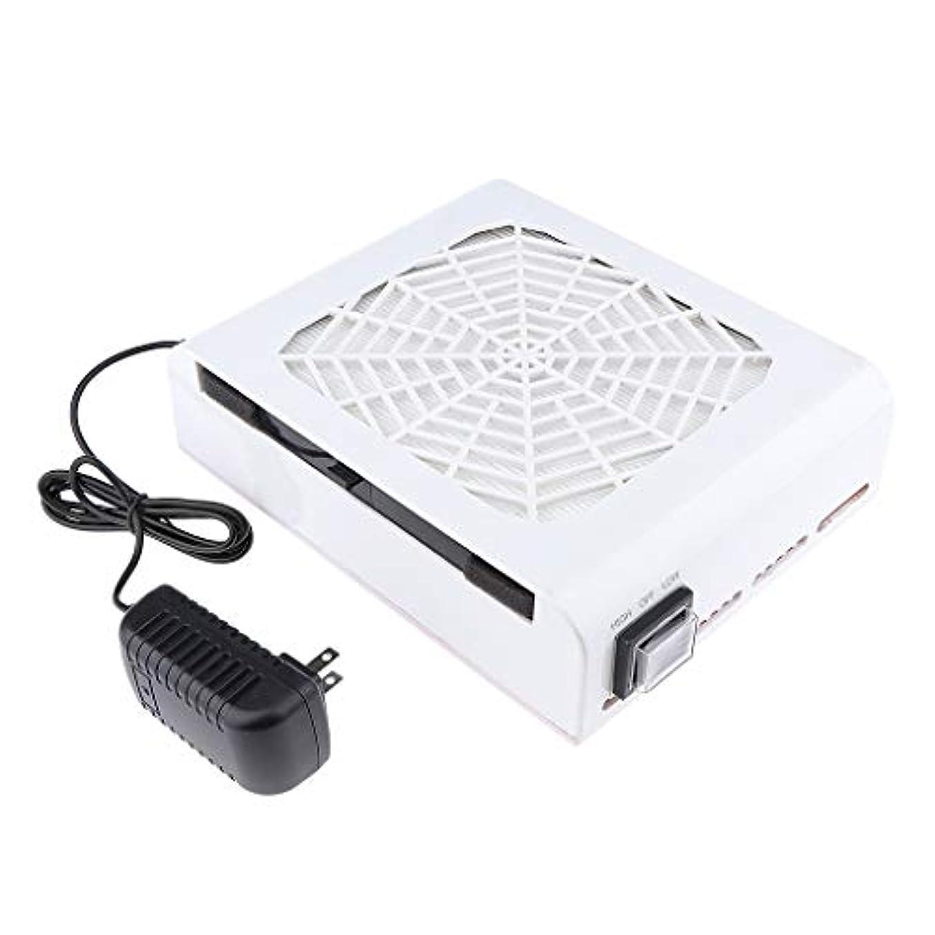 参照する実現可能感じB Baosity 48W ネイルダストコレクター ネイルアート ネイルダスト 電動 塵収集