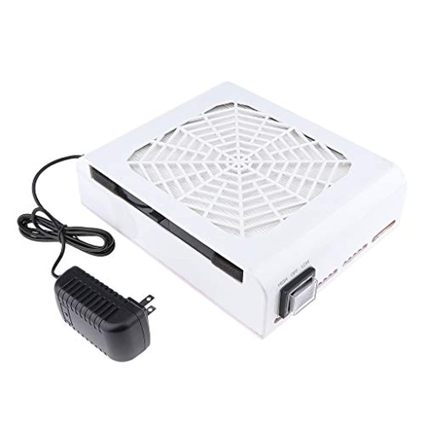 フェッチ保険なすB Baosity 48W ネイルダストコレクター ネイルアート ネイルダスト 電動 塵収集