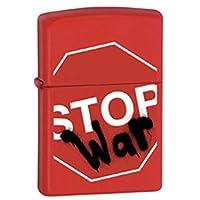 ZIPPO(ジッポー) ライター ミリタリー 戦争 中止 ロゴ レッド [並行輸入品]