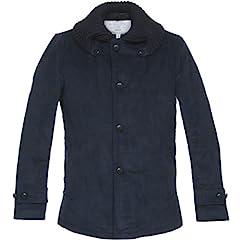 Fidelity Sportswear Corduroy Short Rib Jacket 38436-R-P: Dark Navy