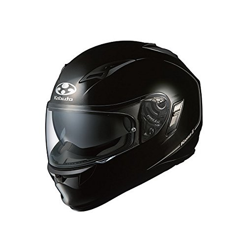 オージーケーカブト(OGK KABUTO)バイクヘルメット フルフェイス KAMUI2 ブラックメタリック (サイズ:XS)