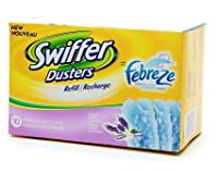 Swiffer Dusters with Febreze、Refillラベンダー&バニラ快適10.0each、3 PK