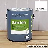 DCペイント 屋外用多用途水性塗料 Garden(屋外用ペイント) 【0362】Pale Quatz 約3.8L