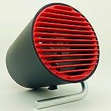 REMAX Desktop USB Fan F20 卓上扇風機 USB給電 (レッド)