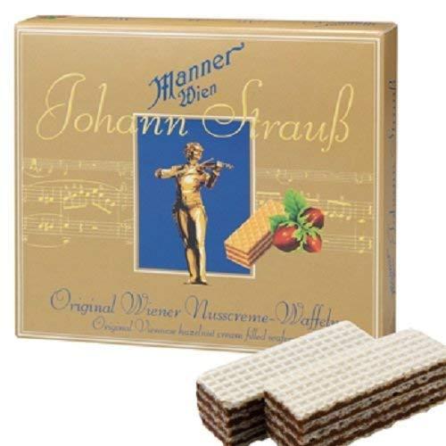 ヨハンシュトラウス ウエハース 1箱【オーストリア 海外土産 輸入食品 スナック】
