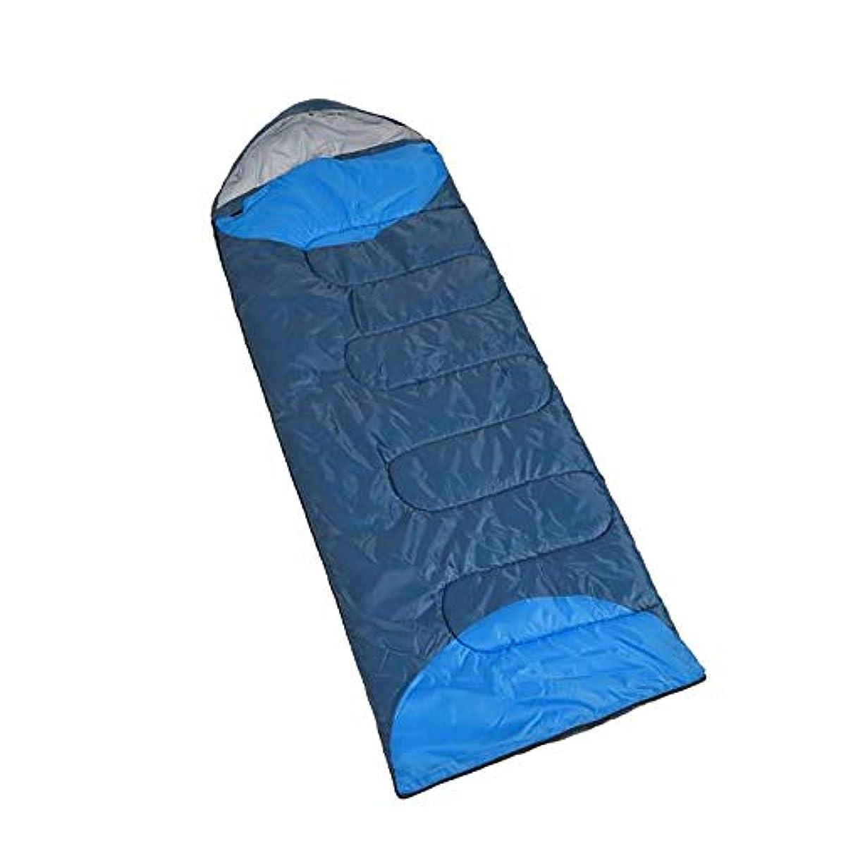 打たれたトラッククーポン不安定なバッグアウトドアハイキングスリーピング防水や汚れ四季を戦うことができるフード付き圧縮する快適かつ簡単に1.3キロ寝袋暖かいキャンプのテント、