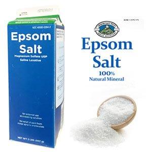 Epsom Salt エプソムソルト / 100% Natural Mineral / エプソム塩 / マグネシウム入浴剤 / 無色・無臭