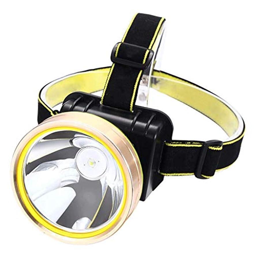 生き残ります医薬幾何学Erosttd 超高輝度LEDヘッドランプ、防水ランニング、キャンプ、ハイキング用充電式ナイトフィッシング屋外用ヘッドランプ