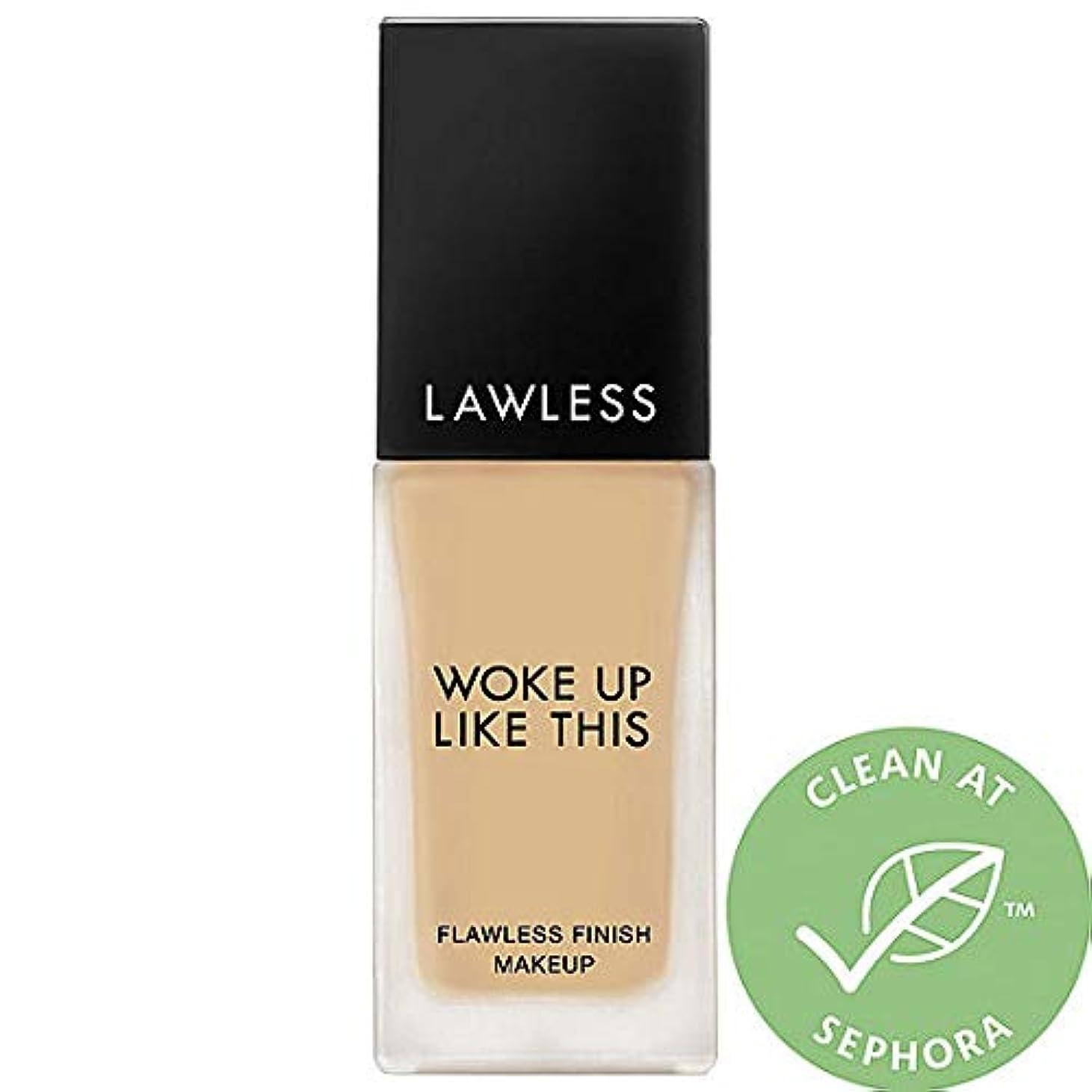 気付く神秘線LAWLESS Woke Up Like This Flawless Finish Foundation (Mesa)