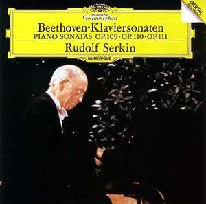 ベートーヴェン:ピアノ・ソナタ第30番、31番、32番