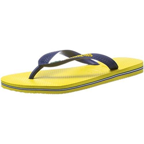 [ハワイアナス] havaianas ハワイアナス BRASIL LOGO 4110850 2197 CY(Citrus Yellow/41/42(27-27.5cm))