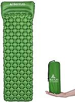 Hikenture Ultralight Sleeping Mat | Backpacking Sleeping Pad-Compact Inflatable Camping Air Mattress Pad for...
