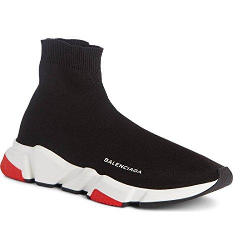 (バレンシアガ) BALENCIAGA Men`s Speed High Slip-On Sneaker メンズスピードハイスリップオンスニーカー (並行輸入品)