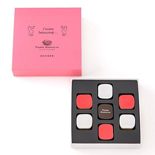 ピエールマルコリーニ チョコレート バレンタイン プラリーヌアソート ソンジュ 7個入り