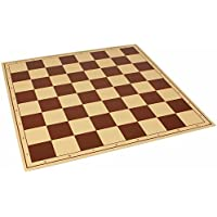 The Chess Store Premium Vinyl Rollup Chess Board Brown - 2.25 Squares by The Chess Store [並行輸入品]