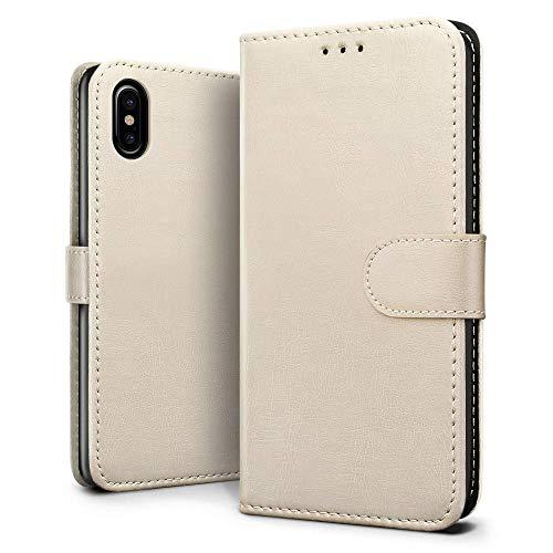 iPhone XRケース J&Hクラシックレトロ・ベストレザ...