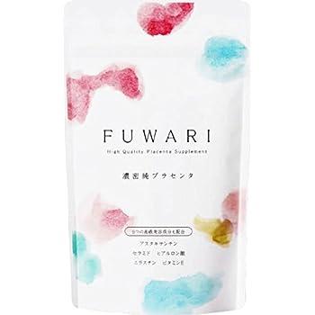 FUWARI(フワリ) 30日分 プラセンタ サプリ ヒアルロン酸 ビタミン E セラミド 美容 日差しに負けない 太陽対策にも