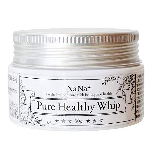 nana+ 生せっけん Pure Healthy Whip 肌に優しい 無添加 洗顔石鹸 毛穴 くすみ 黒ずみ ケア 敏感肌 乾燥肌 男女兼用